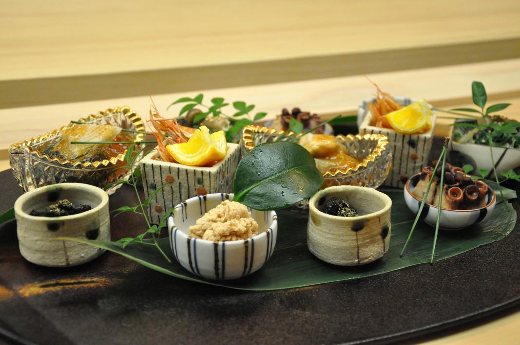 Amuse bouche, Okuda, Chef Shun Miyahara, Parigi