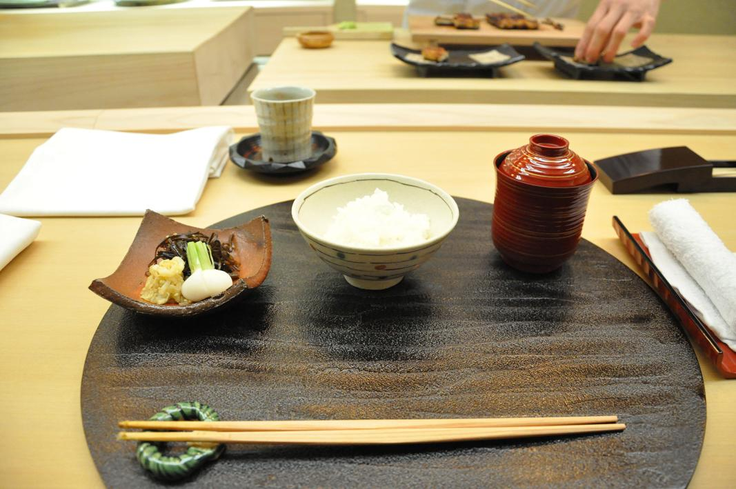 riso, zuppa, miso, Okuda, Chef Shun Miyahara, Parigi