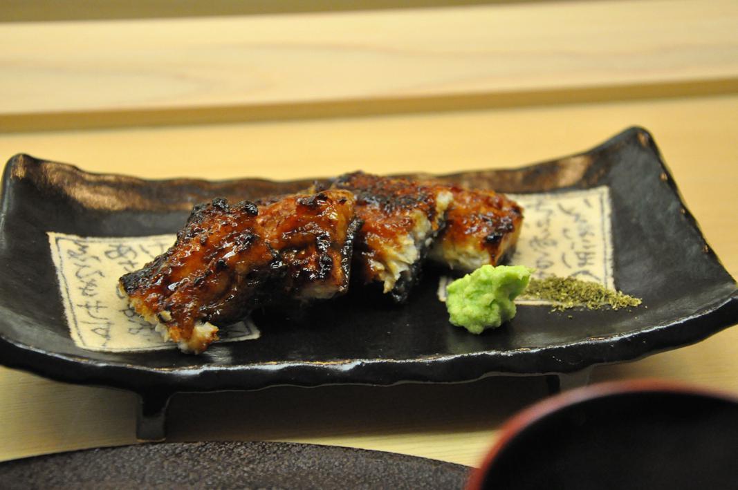 anguilla, Okuda, Chef Shun Miyahara, Parigi