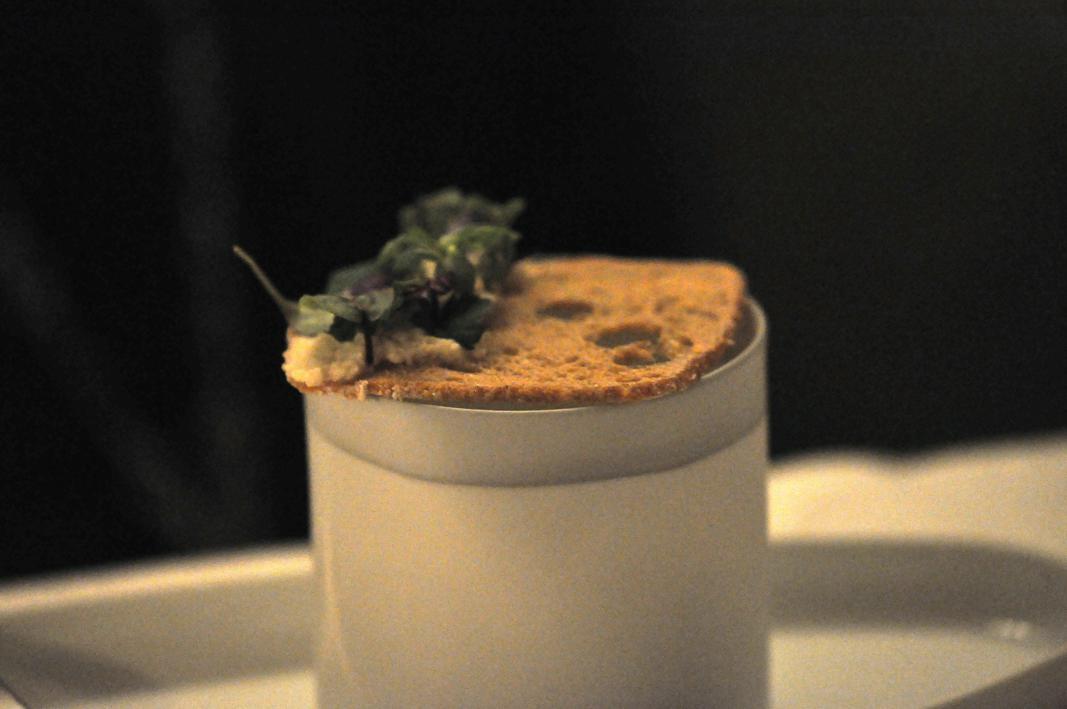 zupap di crescione, Restaurant Jean François Piège, Parigi