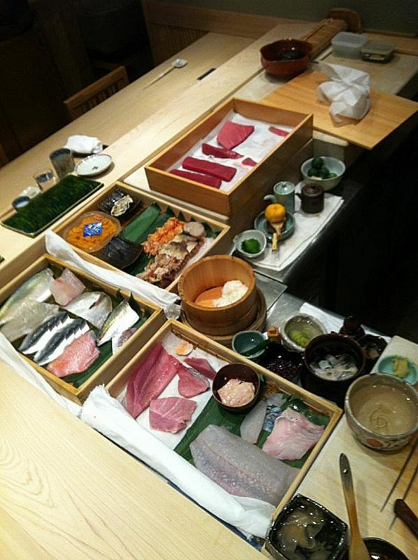 Friday Five, Speciale Giappone, Tatsuhiko Hada, sushi ibuki