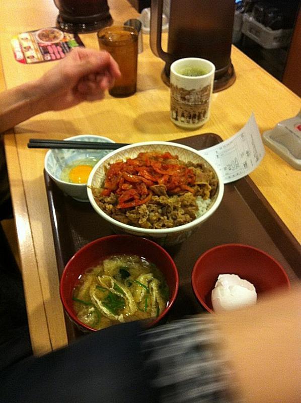 pasto notturno, Friday Five, Speciale Giappone, Tatsuhiko Hada