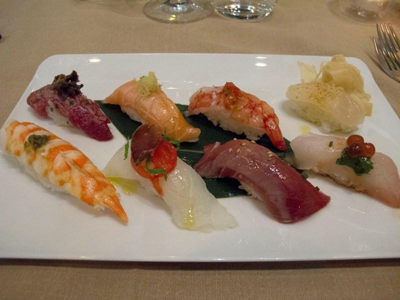 sushi, Wicky's Wicuisine, Chef Wicky Priyan, Milano
