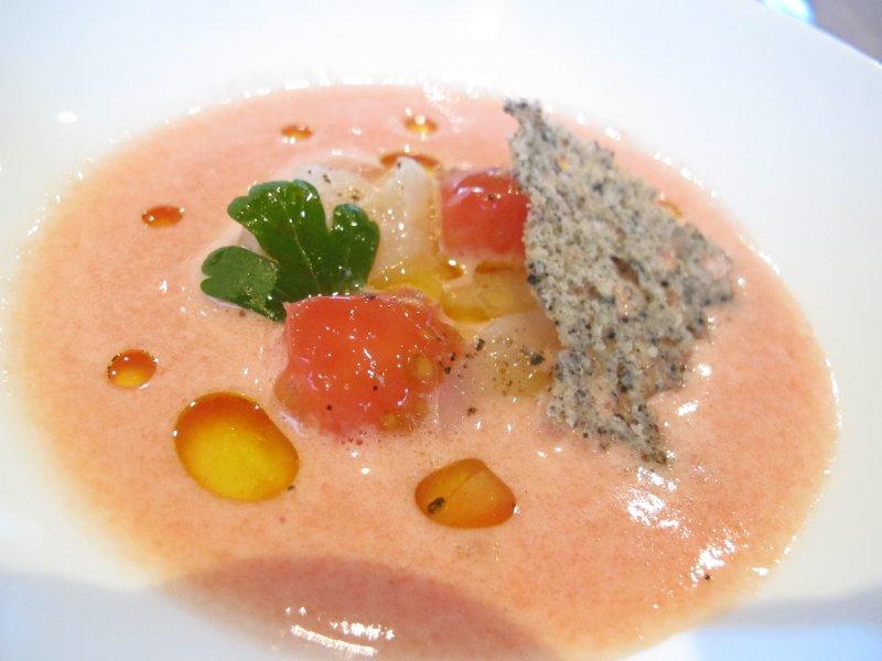 Coulis di pomodoro, Combal Zero, Chef Davide Scabin, Rivoli