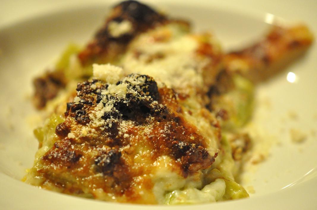 lasagne verdi alla bolognese, Antica Osteria del Mirasole, Chef Franco Cimini, San Giovanni in Persiceto, Bologna