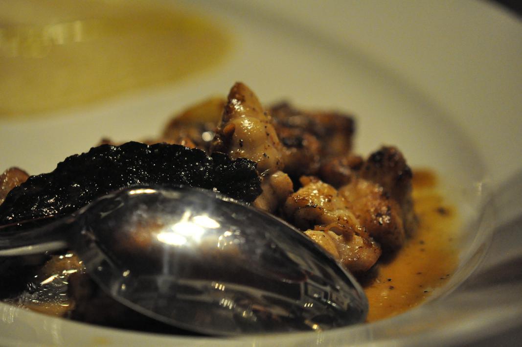 animelle, Antica Osteria del Mirasole, Chef Franco Cimini, San Giovanni in Persiceto, Bologna