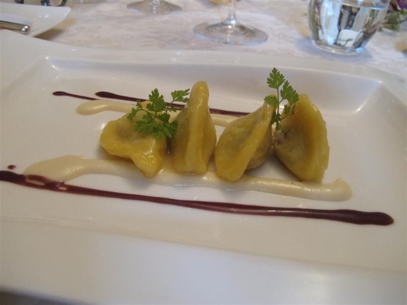 gnocchi di patate, Nido del Picchio, Chef  Daniele Repetti, Carpaneto, Piacenza