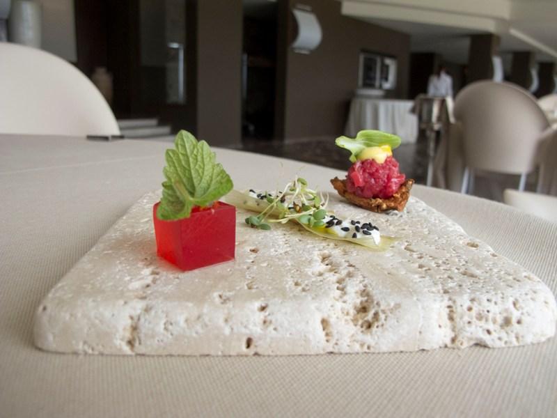 snacks, Le Giare, Chef Gianluca Gorini, Montiano, Cesena