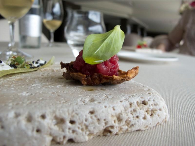 snack, Le Giare, Chef Gianluca Gorini, Montiano, Cesena