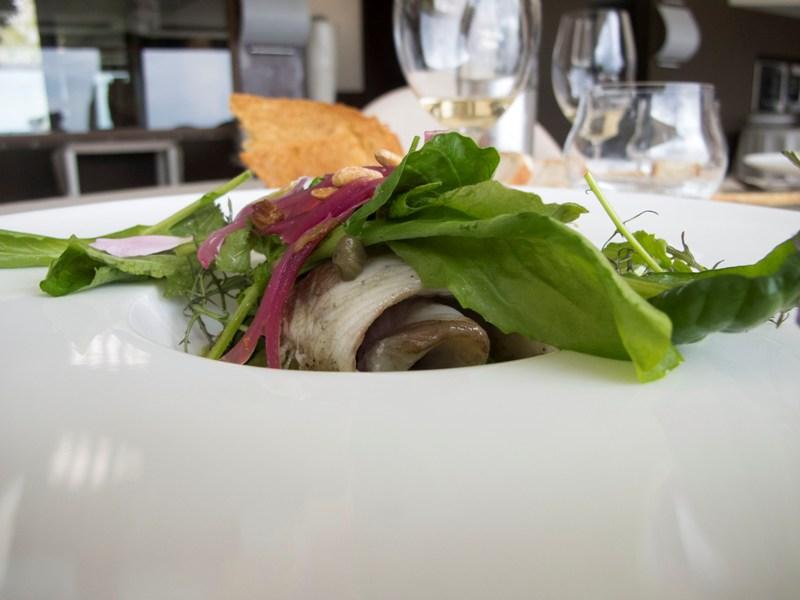 anguilla in insalata, Le Giare, Chef Gianluca Gorini, Montiano, Cesena