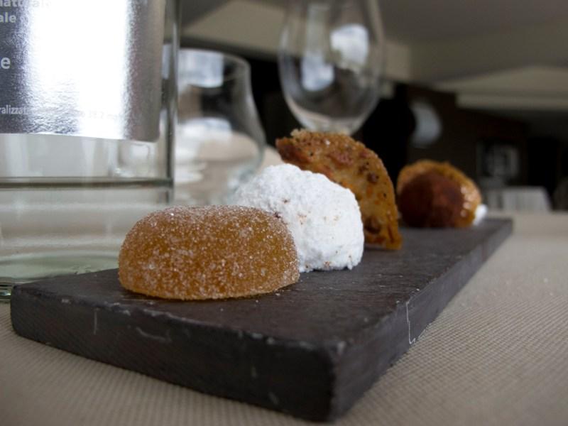 piccola pasticceria, Le Giare, Chef Gianluca Gorini, Montiano, Cesena