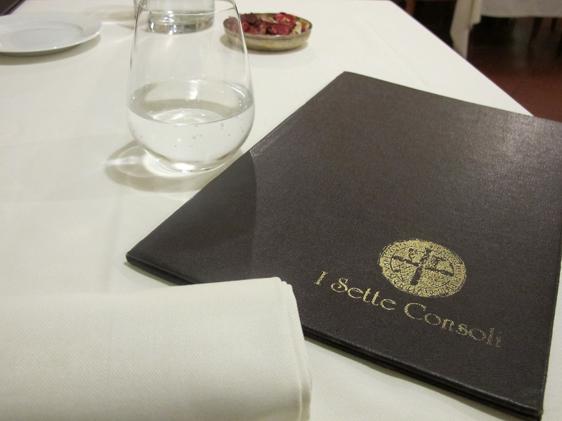 mise en place, I Sette Consoli, chef Anna Simoncini, Orvieto