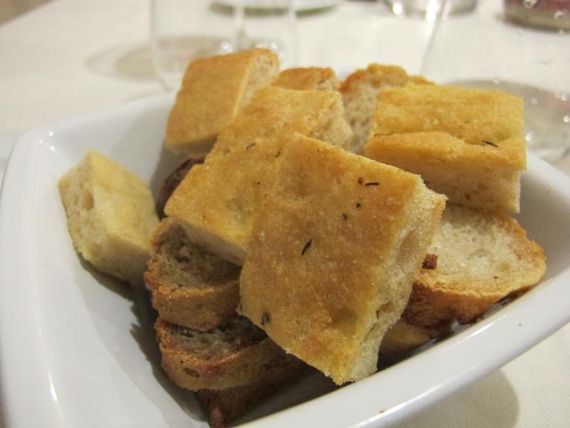 pane, I Sette Consoli, chef Anna Simoncini, Orvieto