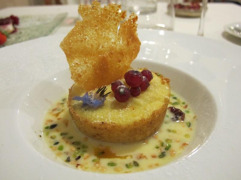 tortino di semolino, I Sette Consoli, chef Anna Simoncini, Orvieto