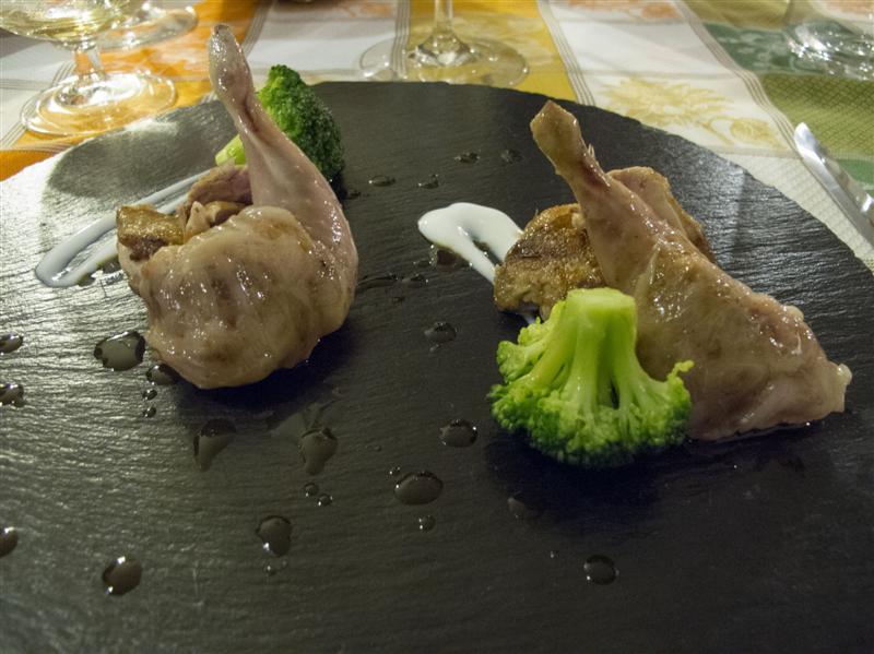 quaglia, Trattoria Barsotti, Chef Lorenzo Barsotti, Marzabotto