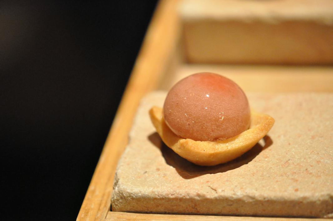 piccola pasticceria, Le Jardin des Ramparts, Chef C. Bocquillon, Beaune
