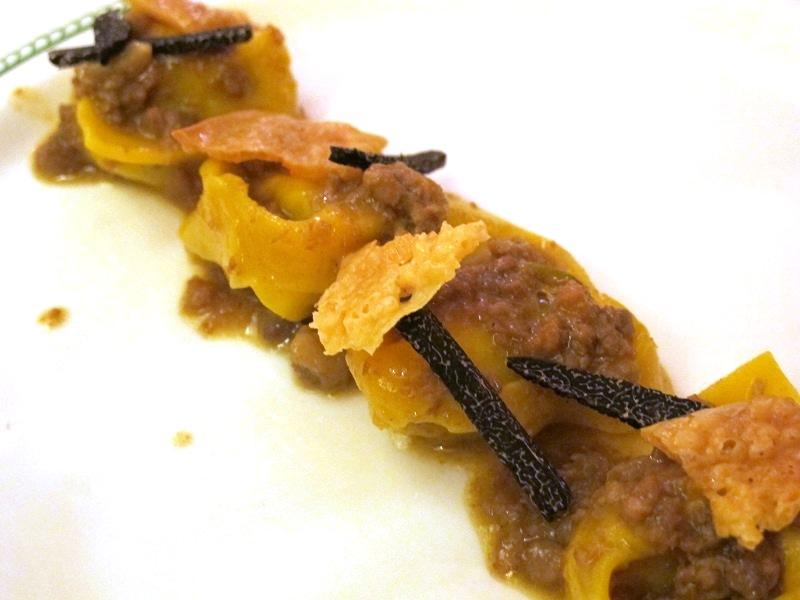 Tortelli di patate e rosmarino, Locanda di Piero, Chef Rizzardi, Montecchio Precalcino, Vicenza
