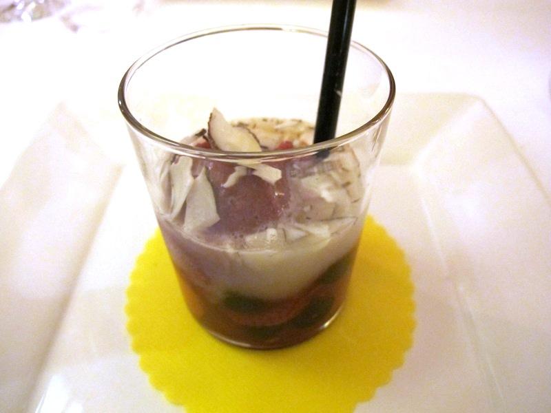 pina colada, Locanda di Piero, Chef Rizzardi, Montecchio Precalcino, Vicenza