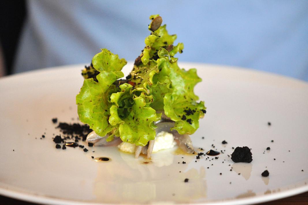insalata sporca di terra, Il Grano di Pepe, Chef Rino Duca, Ravarino