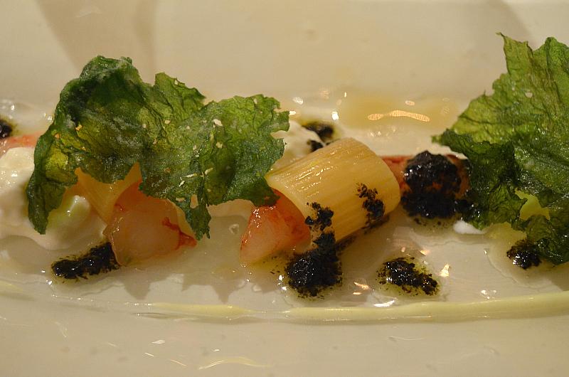 sushi di maccheroni,  Perbellini, chef Giancarlo Perbellini, Isola Rizza, Verona