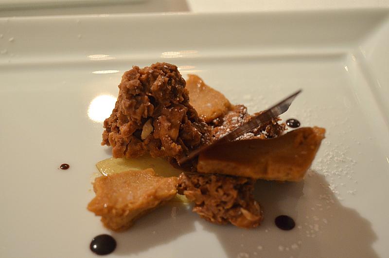 nocciole, cioccolato,  Perbellini, chef Giancarlo Perbellini, Isola Rizza, Verona
