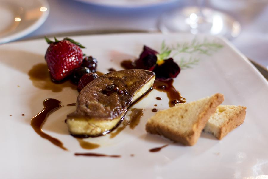 Foie Gras, La Présef, Chef Gianni Tarabini, Mantello
