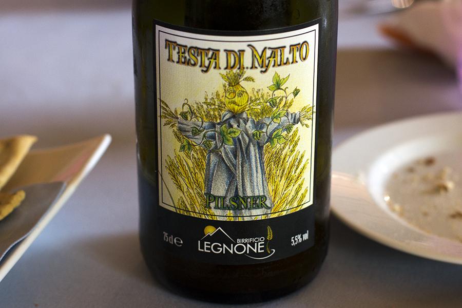 birra, La Présef, Chef Gianni Tarabini, Mantello