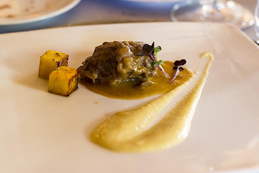 Guancetta di pistilli, La Présef, Chef Gianni Tarabini, Mantello