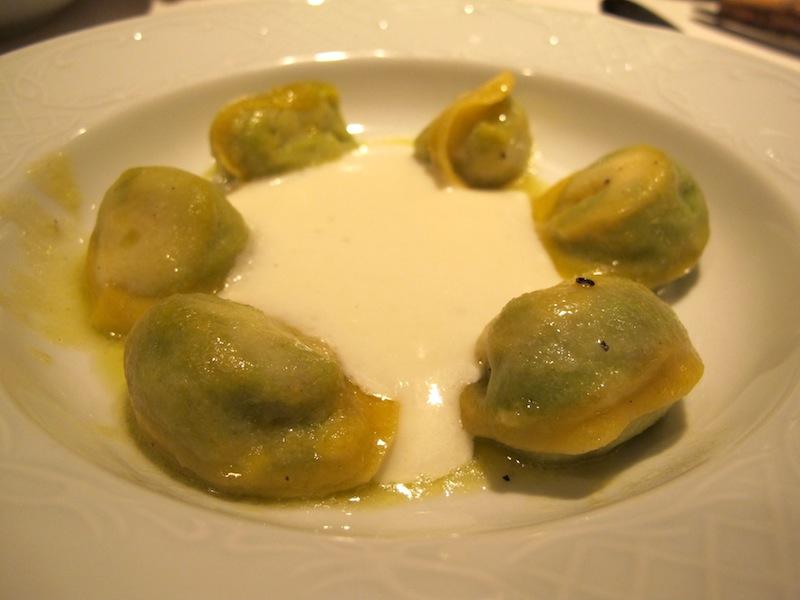tortelli di prosciutto, Primo al Pigneto, Chef Marco Gallotta, Roma