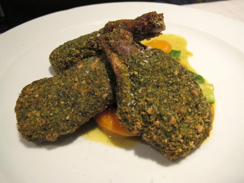 agnello in crosta, Primo al Pigneto, Chef Marco Gallotta, Roma
