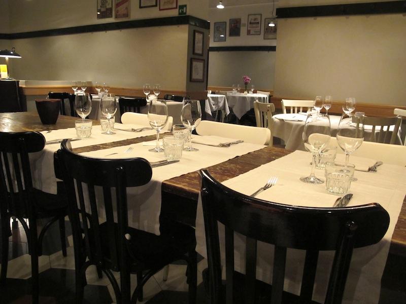 interno, Primo al Pigneto, Chef Marco Gallotta, Roma