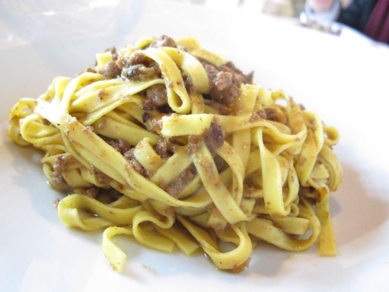 tagliatelle di ragù di cinghiale, Taverna di Fra Fiusch, Moncalieri, Torino