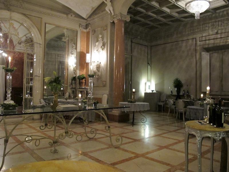 sala, La Torre a Villa Laetitia, Chef Ciavattini, Roma