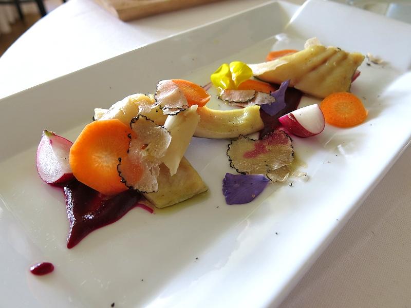 trota bianca, Trippini, Chef Paolo Trippini, Civitella del Lago
