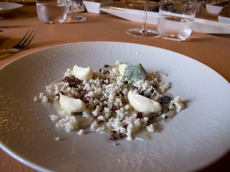 storione in bianco, Antica Osteria del Ponte, Chef Salmoiraghi, Cassinetta di Lugagnano, Milano