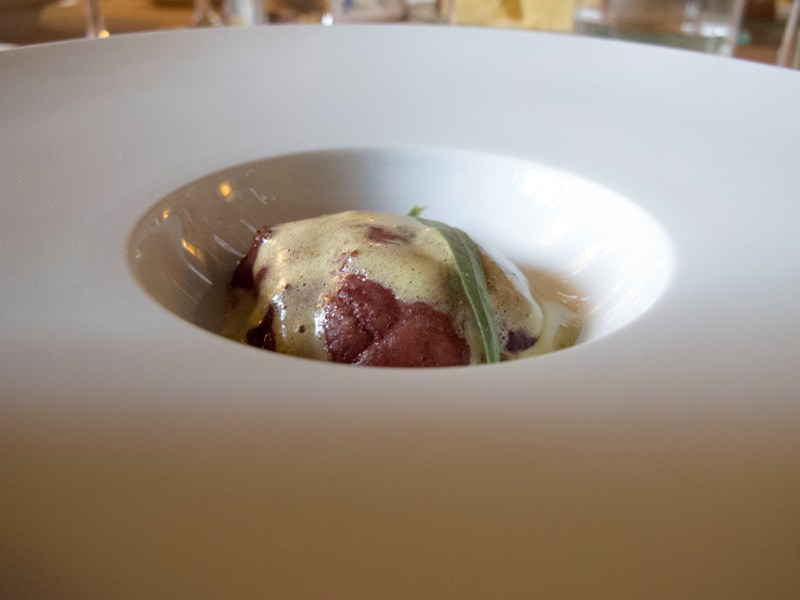 animella di capretto, Antica Osteria del Ponte, Chef Salmoiraghi, Cassinetta di Lugagnano, Milano