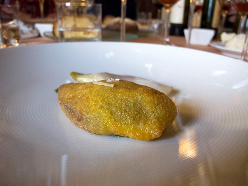 piccione alla milanese, Antica Osteria del Ponte, Chef Salmoiraghi, Cassinetta di Lugagnano, Milano