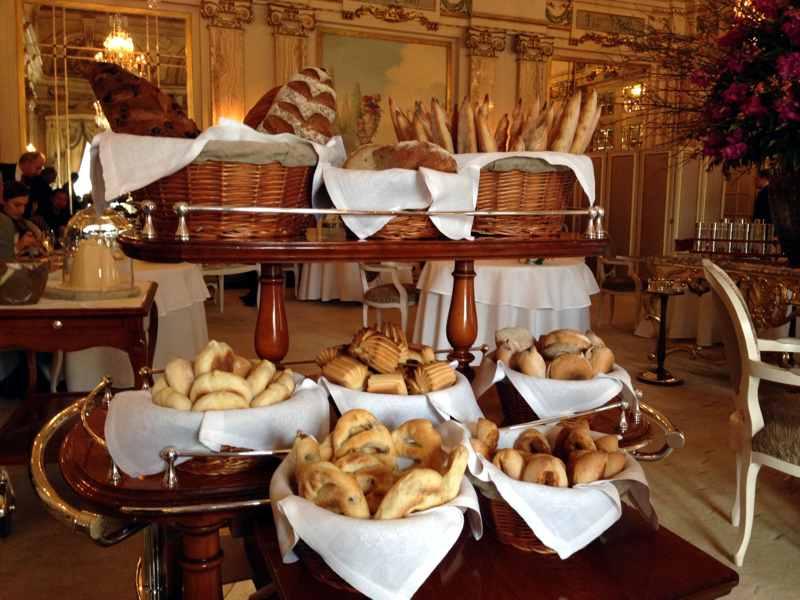 carrello del pane, Louis XV, Chef Franck Cerutti, Montecarlo