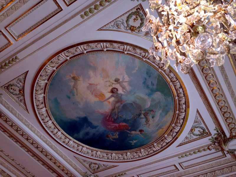 affresco, Louis XV, Chef Franck Cerutti, Montecarlo