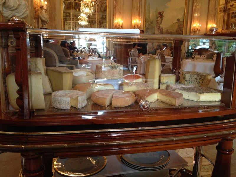 carello dei formaggi, Louis XV, Chef Franck Cerutti, Montecarlo