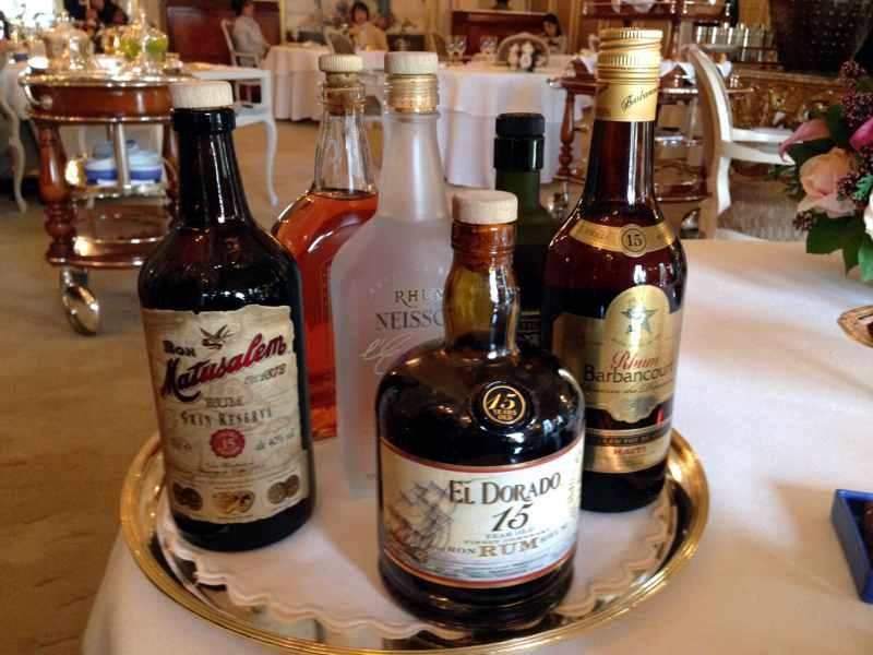 rum, Louis XV, Chef Franck Cerutti, Montecarlo