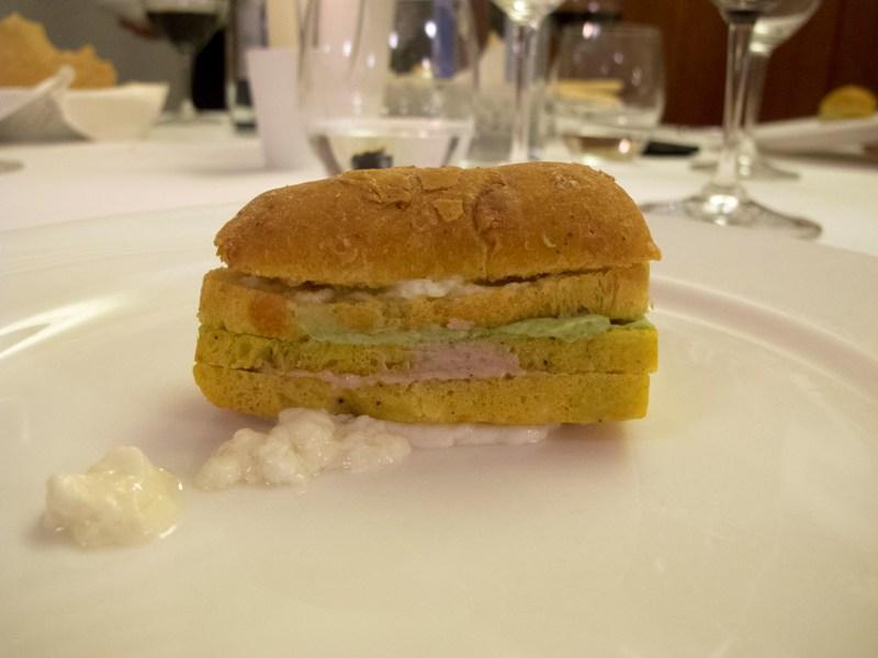 panino primo maggio, Due Cigni, Chef Rosaria Morganti, Montecosaro, Macerata