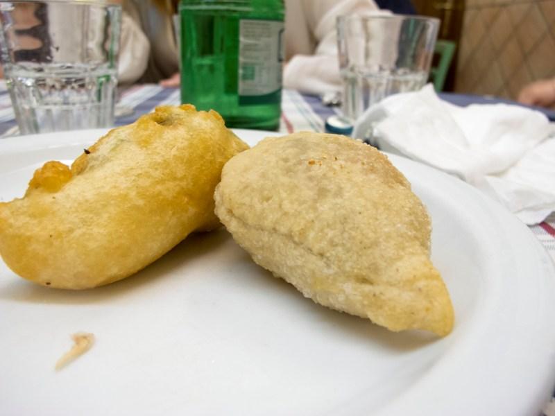 pizza fritta, La Gatta Mangiona, Roma