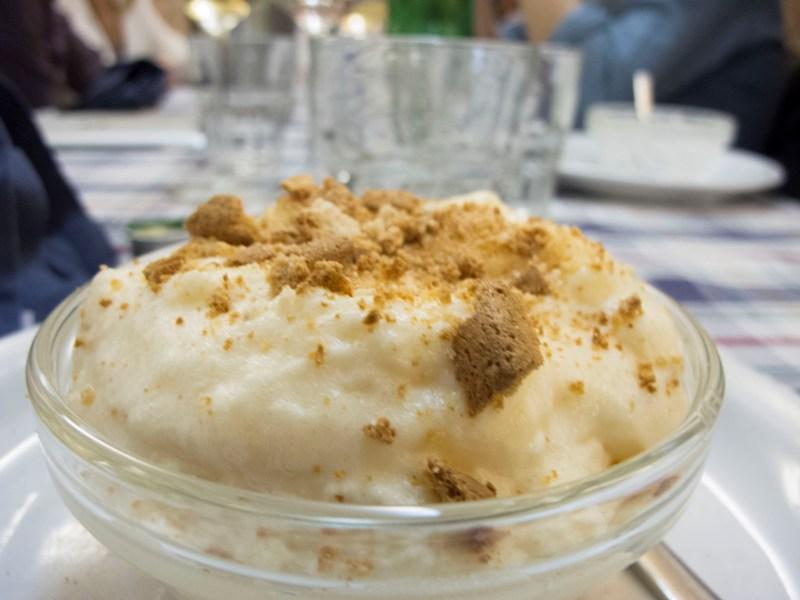 Crema al mascarpone, La Gatta Mangiona, Roma