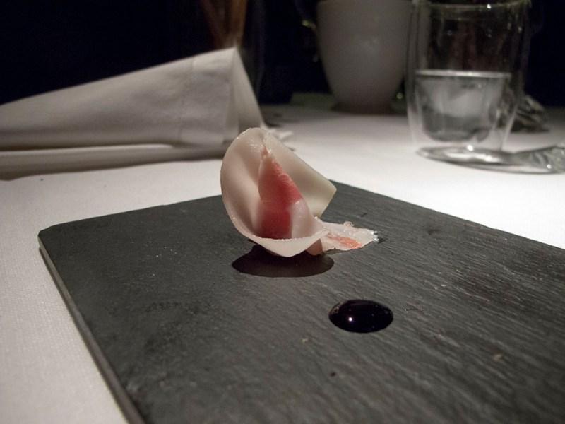 Snack iniziali, Pipero al Rex, Chef Luciano Monosilio, Roma
