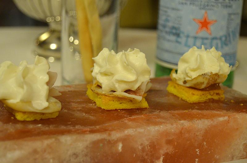 biscotto salato, Arquade, Hotel Villa del Quar, Chef Del Degan, Quar