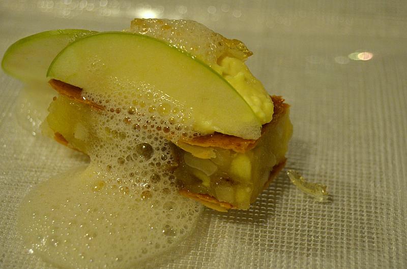 strudel di mele, Arquade, Hotel Villa del Quar, Chef Del Degan, Quar, Verona
