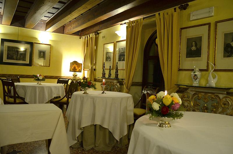 sala, Arquade, Hotel Villa del Quar, Chef Del Degan, Quar, Verona