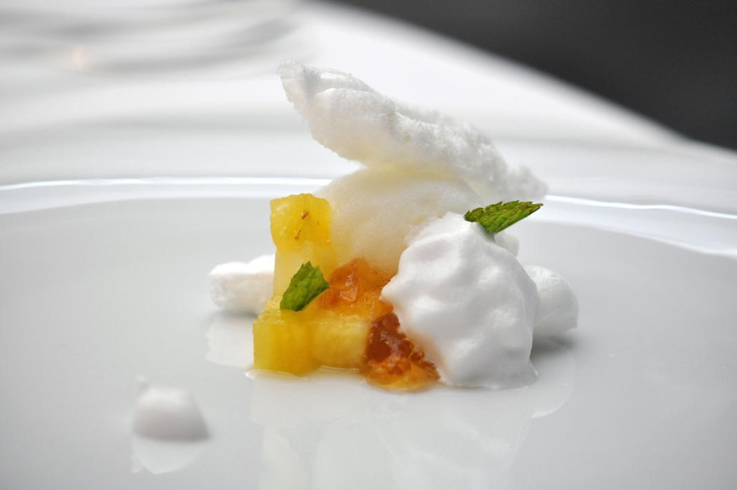 Pina colada, Antica Osteria Cera, Chef Cera, Campagna Lupia