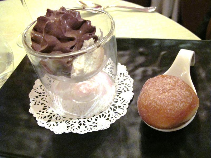 cioccolato, ricotta e olive, Enoteca al Parlamento, chef Massimo Viglietti, Roma